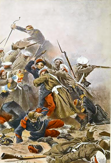 Russo-French_skirmish_during_Crimean_War